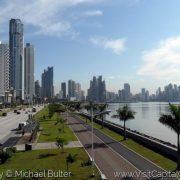 Die Uferpromenade von Panama City, Panama